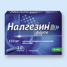 Упаковка Налгезин Форте (Nalgesin Forte)