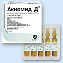 Упаковка Акномид Д (Aknomid D)