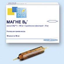 Упаковка Магне B6 (Magne B6)