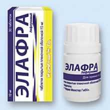 Упаковка Элафра (Elafra)