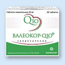 Упаковка Валеокор-Q10 (Valeocor-Q10)