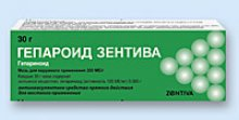Упаковка Гепароид Зентива (Heparoid Zentiva)
