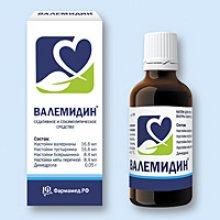 Упаковка Валемидин (Valemidin)
