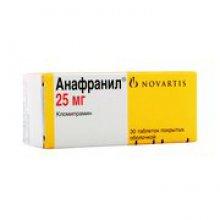 Упаковка Анафранил (Anafranil)
