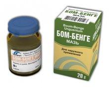 Упаковка и флакон Бом-Бенге (Bom-Benge)