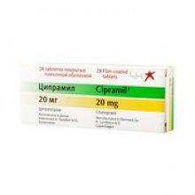 Упаковка Ципрамил (Cipramil)