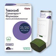 Упаковка Тевакомб (Tevacomb)