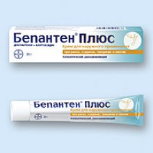 Упаковка Бепантен Плюс (Bepanthen Plus)