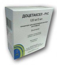Упаковка Доцетаксел-Рус (Docetaxel-Rus)