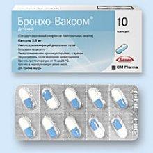 Упаковка Бронхо-Ваксом Детский (Broncho-Vaxom Children)