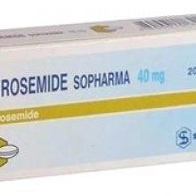 Упаковка Фуросемид (Furosemide)