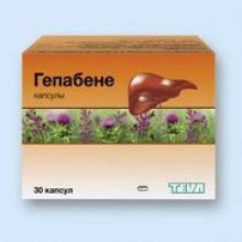 Упаковка Гепабене (Hepabene)