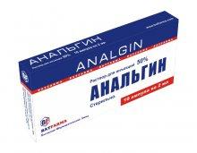 Упаковка Анальгин (Analgin)