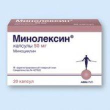 Упаковка Минолексин (Minolexin)
