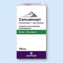 Упаковка Сальмекорт (Salmecort)