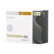 Упаковка Толперизон-OBL (Tolperizon-OBL)