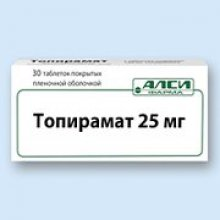 Упаковка Топирамат (Topiramate)